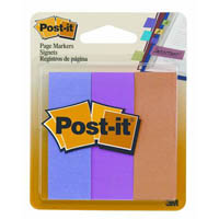 POST-IT 5221 PAPER PAGE MARKERS ULTRA 3 COLOURS