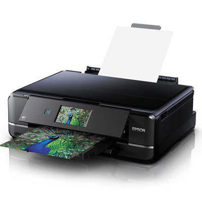 EPSON XP-960 EXPRESSION PREMIUM MULTIFUNCTION INKJET PRINTER DAMAGED CARTON