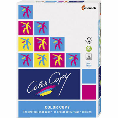 MONDI COLOR COPY A4 COPY PAPER COATED SILK 135GSM WHITE 250 SHEETS