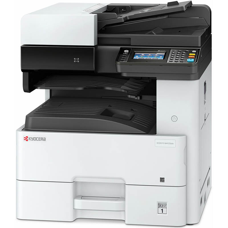 KYOCERA M4125IDN A3 Mono Laser Multifunction Printer- Print, Scan, Copy