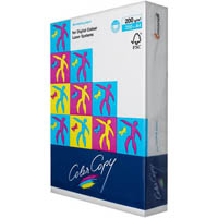 MONDI COLOR COPY A4 COPY PAPER 200GSM WHITE PACK 250 SHEETS