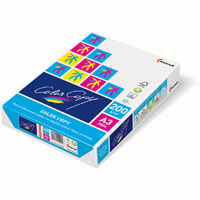 MONDI COLOR COPY A3 COPY PAPER 200GSM WHITE PACK 250 SHEETS