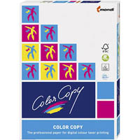 MONDI COLOR COPY A4 COPY PAPER COATED SILK 200GSM WHITE PACK 250 SHEETS