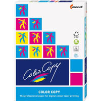 MONDI COLOR COPY A4 COPY PAPER GLOSSY COATED 200GSM WHITE PACK 250 SHEETS