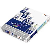 MONDI COLOR COPY A4 COPY PAPER GLOSSY COATED 135GSM WHITE PACK 250 SHEETS